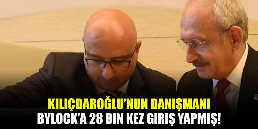 Kılıçdaroğlu'nun danışmanı 28 bin kez giriş yapmış