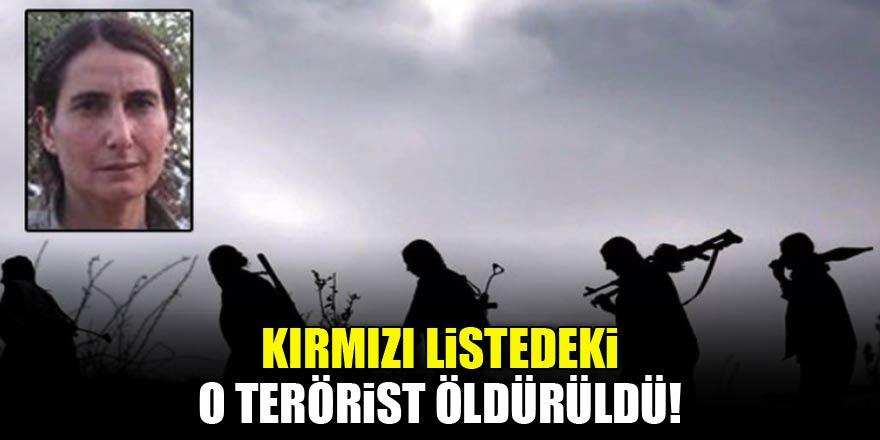 Kırmızı listedeki terörist öldürüldü!