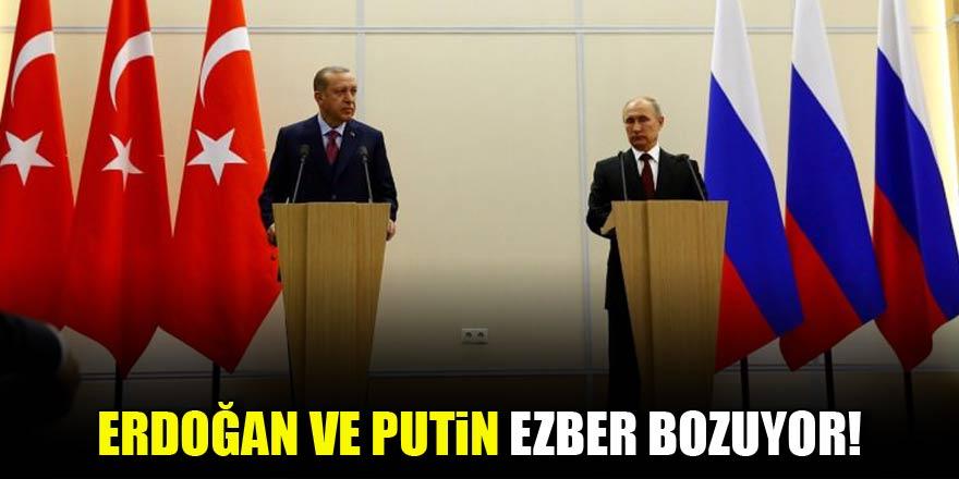Erdoğan ve Putin ezber bozdu