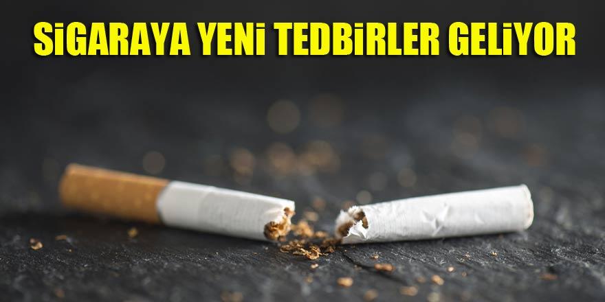 Sigaraya yeni tedbirler geliyor