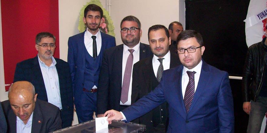 AK Parti Yunak İlçe Başkanı Kuru güven tazeledi