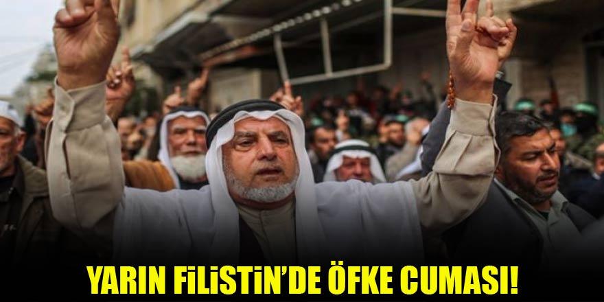 """Yarın Filistin'de """"Öfke Cuması"""""""