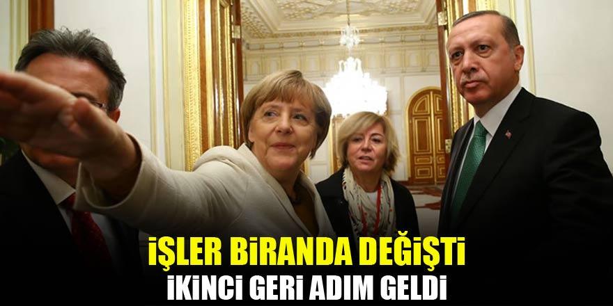 Merkel'den ikinci geri adım