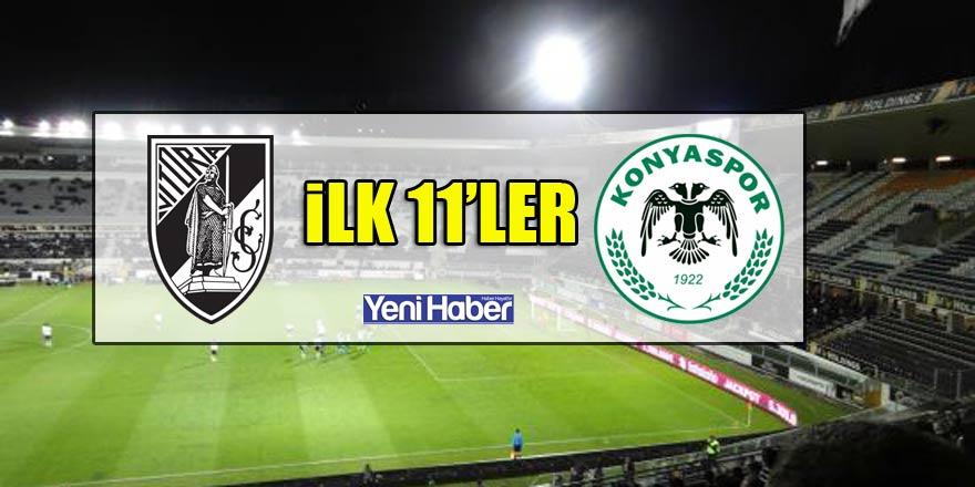 Vitoria - Atiker Konyaspor | İLK 11'LER