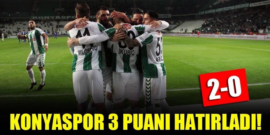 Konyaspor 3 puanı hatırladı!