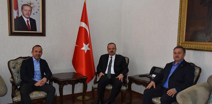 Konyaspor'dan şehir protokolüne nezaket ziyareti