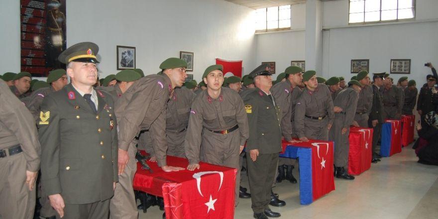 Konya İl Jandarma Komutanlığı'nda yemin töreni heyecanı