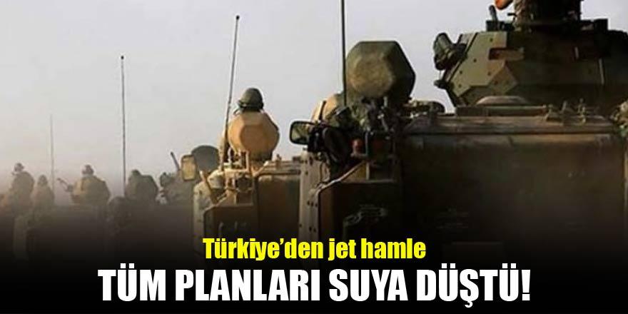 Türkiye'nin jet hamlesi hain planları suya düşürdü