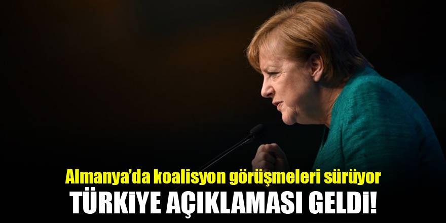 Almanya'dan son dakika 'Türkiye' açıklaması!