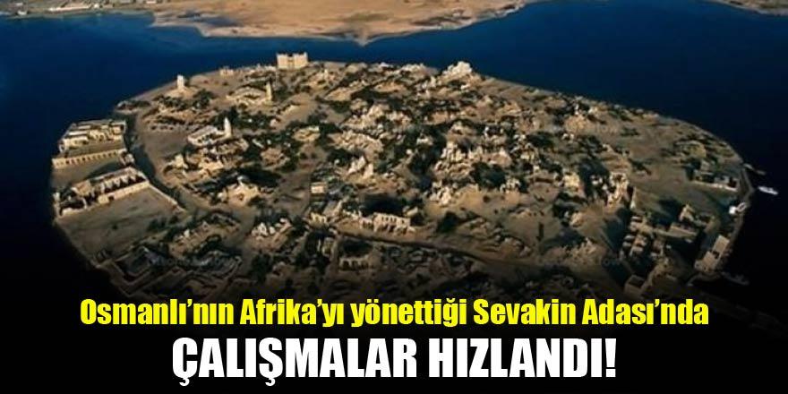 Osmanlı'nın Afrika'yı yönettiği kalede çalışmalar hızlandı!