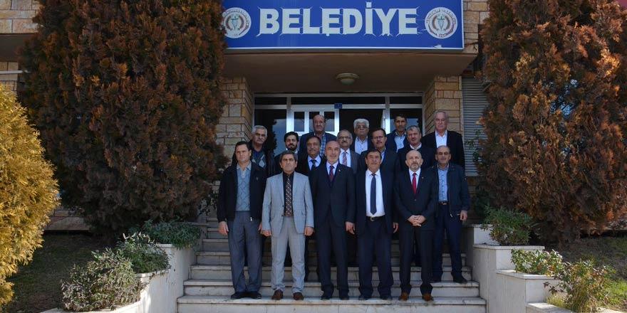 AK Parti Konya İl Yönetimi Altınekin'i ziyaret etti