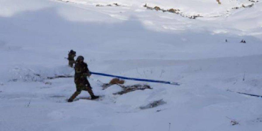 PKK kendine boru döşedi