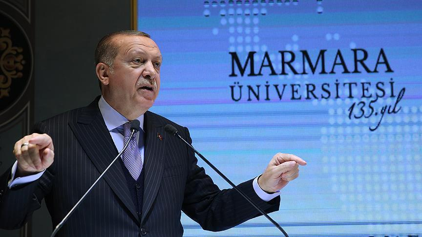 Erdogan: FETO stole our future, split Ummah