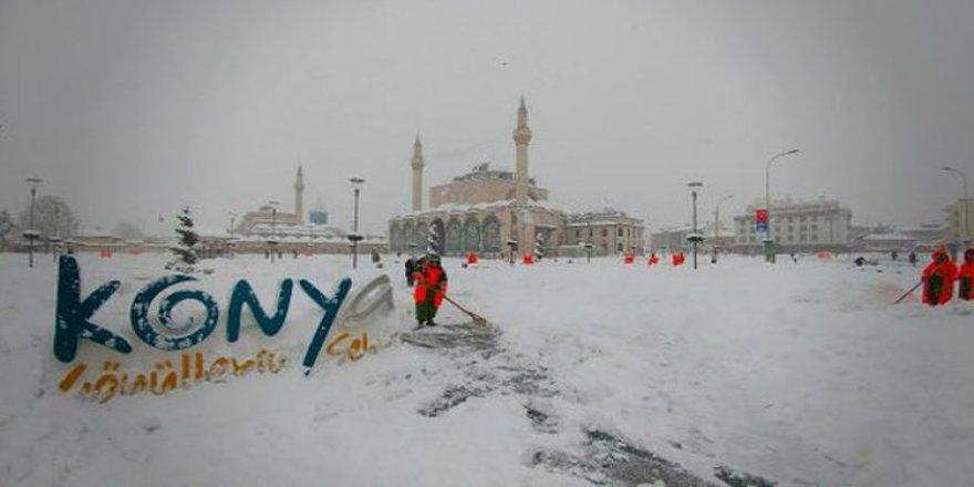Meteoroloji uyardı! Konya ve civarına kar geliyor...