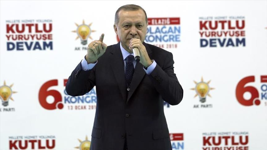 Erdogan menace les terroristes à Afrin en Syrie s'ils ne capitulent pas