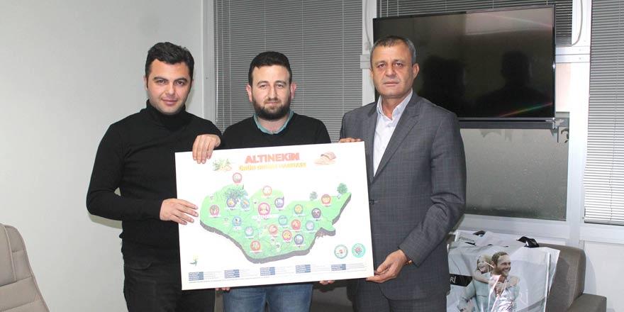 Kağnıcıoğlu'ndan Yeni Haber'e ziyaret