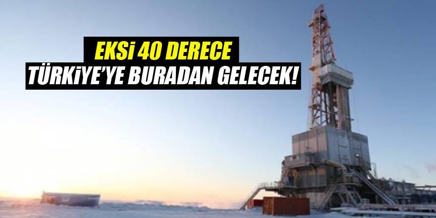 Eksi 40 Derece Türkiyeye Buradan Gelecek