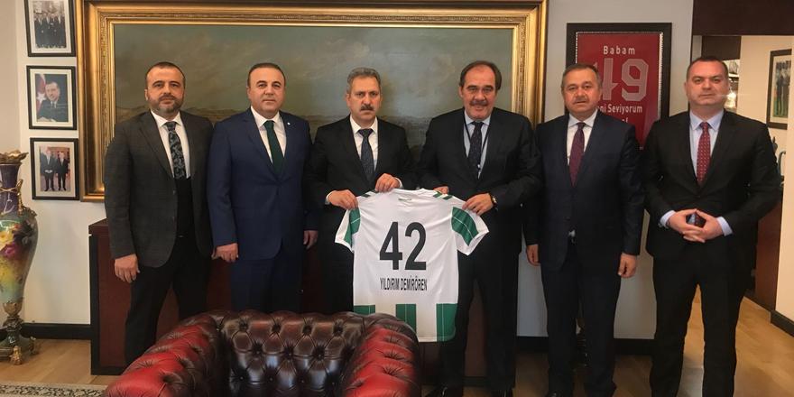 Konyaspor, TFF'ye hata dosyalarını sundu