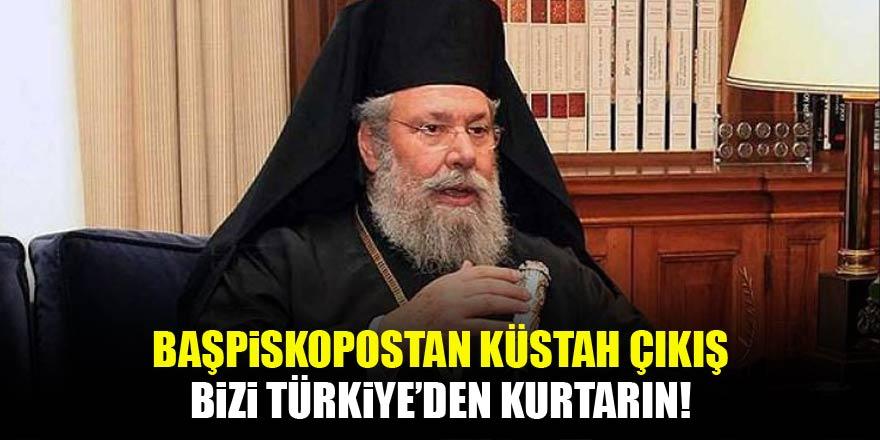 Başpiskopos yalvardı: Bizi Türkiye'den kurtarın