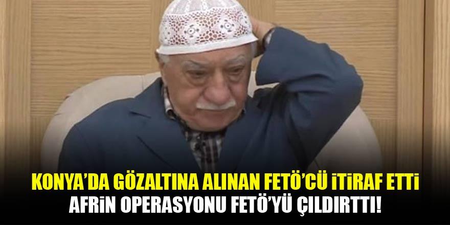 Afrin operasyonu FETÖ'yü çıldırttı! İtiraf geldi