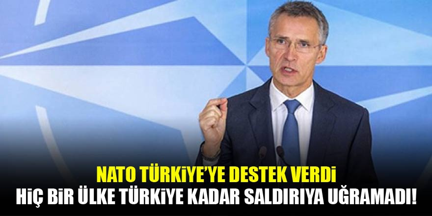 NATO'dan 'Afrin' açıklaması: Başka hiç bir ülke Türkiye kadar saldırıya uğramadı