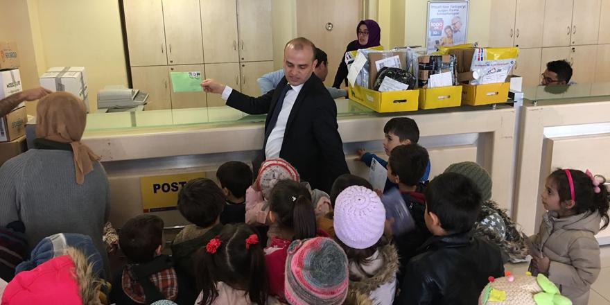 Seydişehir'deki öğrencilerden Mehmetçiğe mektup