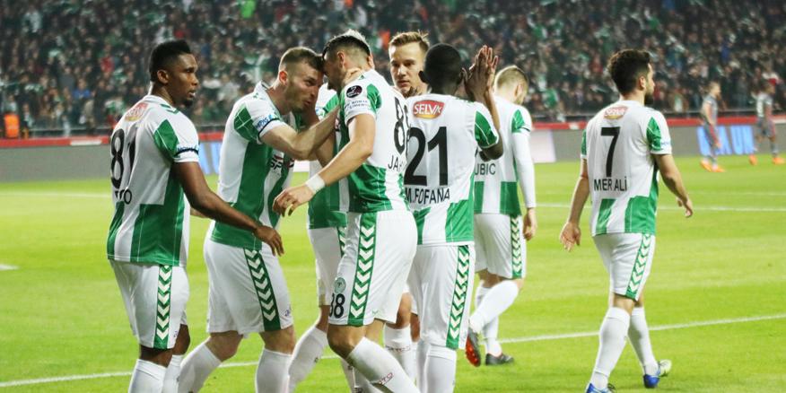 Konyaspor, ateşten 5 puanla çıktı!