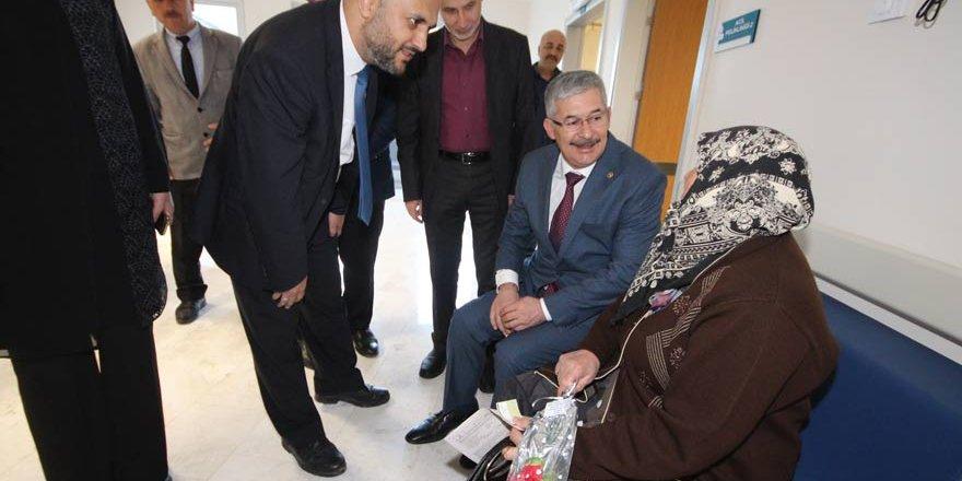 Babaoğlu, Beyşehir'de incelemeler yaptı
