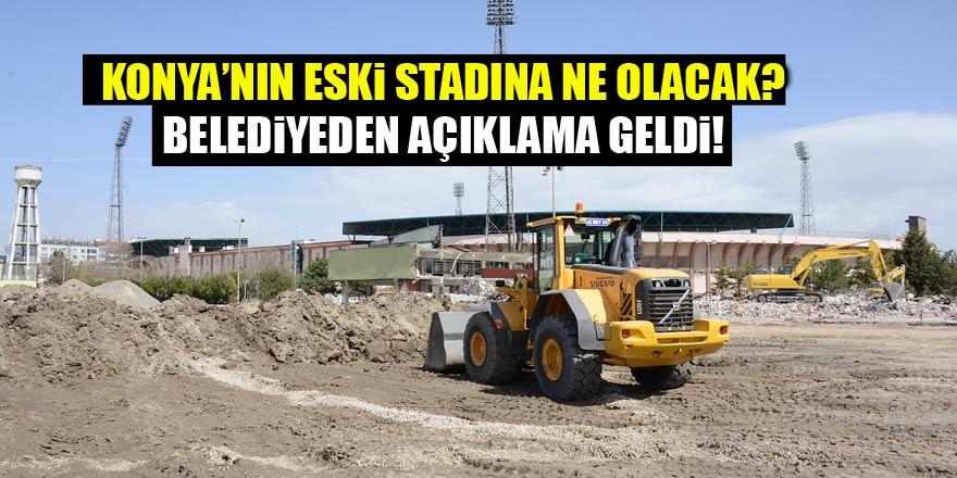 Konya'nın eski stadına ne olacak? Başkan Akyürek cevapladı...