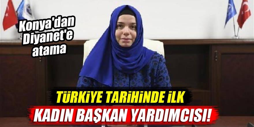 Konya'dan Diyanet İşleri Başkan Yardımcılığı'na atama! Türkiye'de ilk...