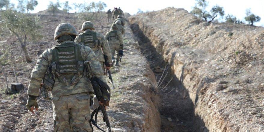 TSK: Afrin'de 1 askerimiz şehit