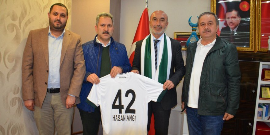 Konyaspor'dan Hasan Angı'ya ziyaret