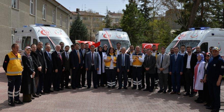 Konya'nın acil ambulans filosu genişliyor