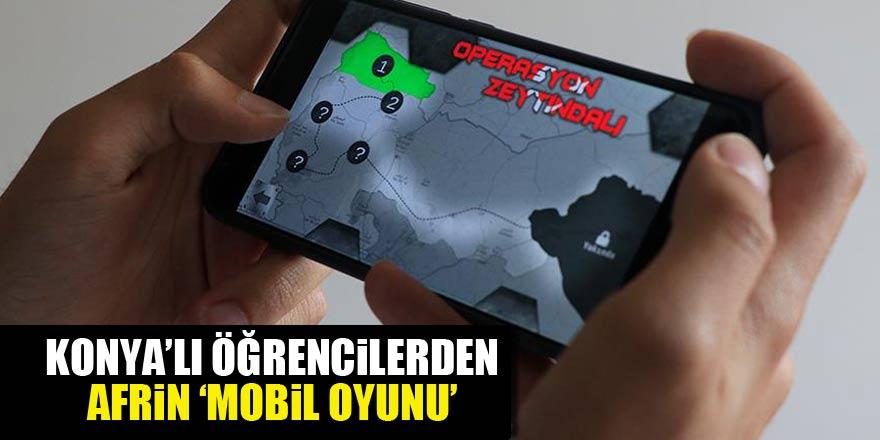"""Zeytin Dalı Harekatı'ndan """"mobil oyun"""""""