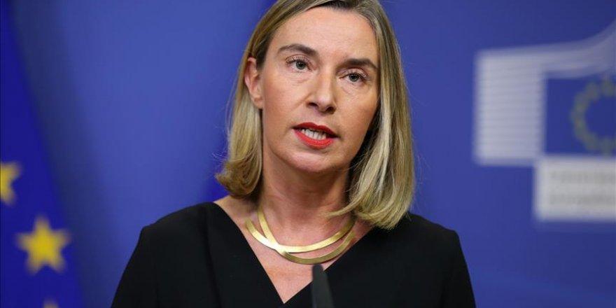 Mogherini : On voudrait activer les négociations de paix sur la Syrie après les frappes