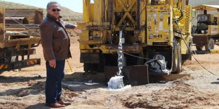 100 yıllık su sorunu çözüldü