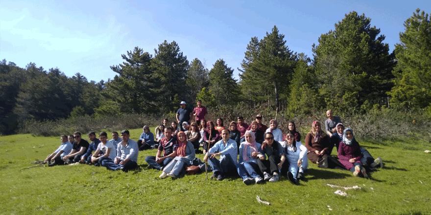 Beyşehir'de yurtta kalan öğrencilere doğa gezisi