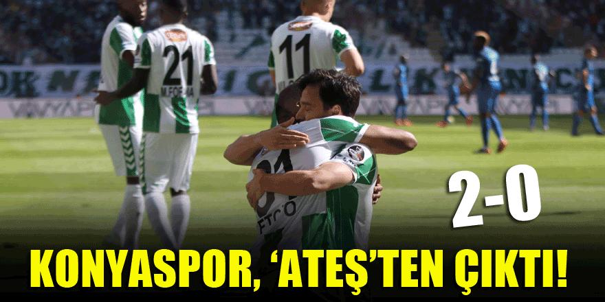 Konyaspor, Kasımpaşa'yı yendi ateş hattından kurtuldu!