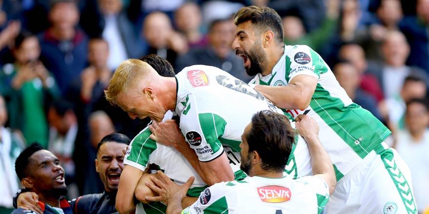 Konyaspor'da seri 5 maça çıktı
