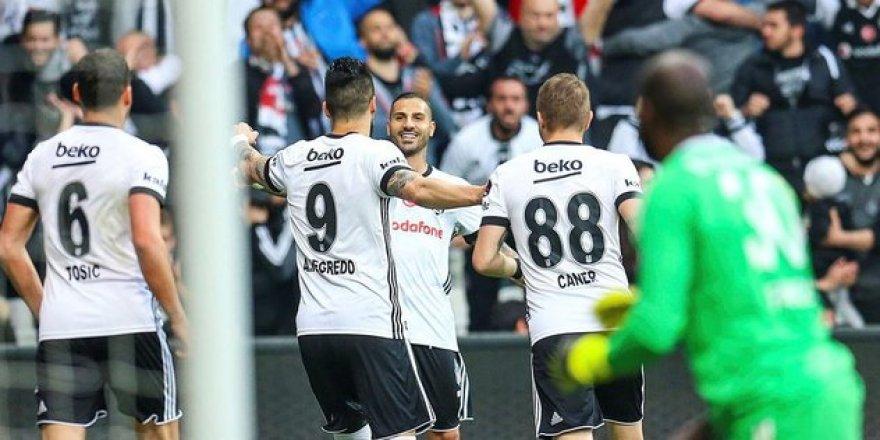 Beşiktaş'tan Galatasaray'a gözdağı .