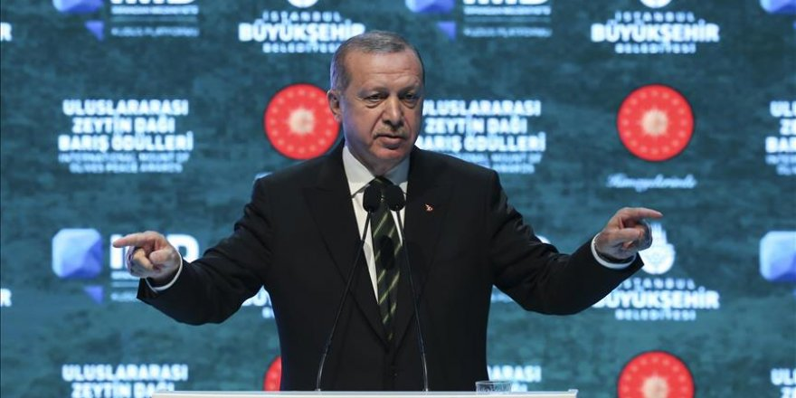 Erdogan slams int'l community's apathy for Palestine