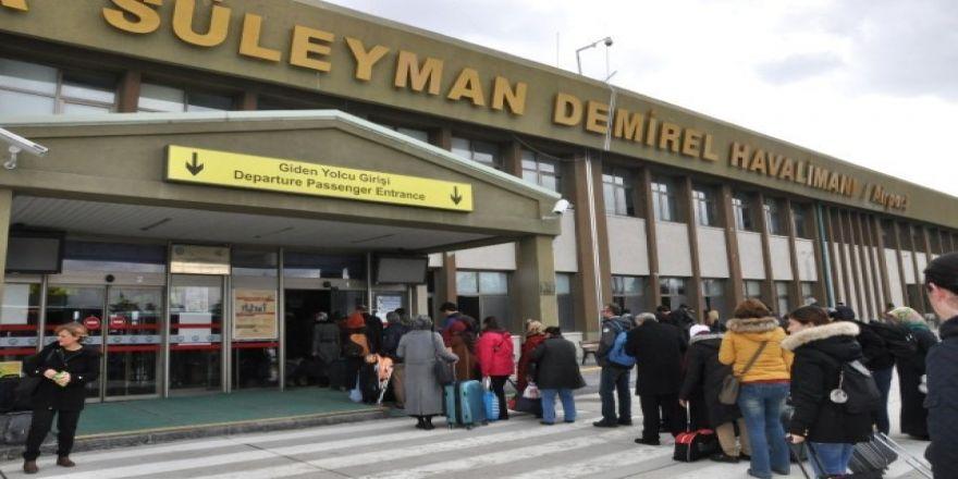 SD Havalimanı'nda 4 ayda, 58 bin 916 yolcu ile 727 ton yük taşındı