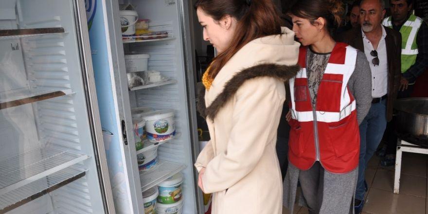 Yüksekova'da 'yemekhane' denetimi