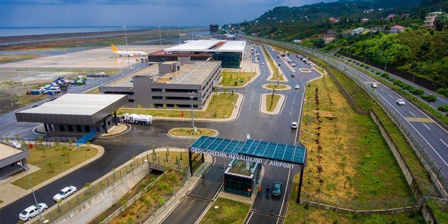 Ordu-Giresun Havalimanında yolcu sayısı yüzde 7 arttı