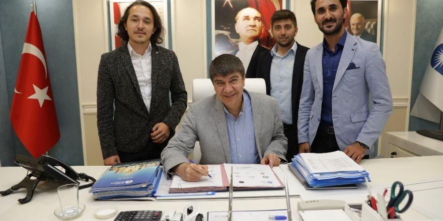Başkan Türel, Genç Gönül Elçileri ile işbirliği protokolü imzaladı