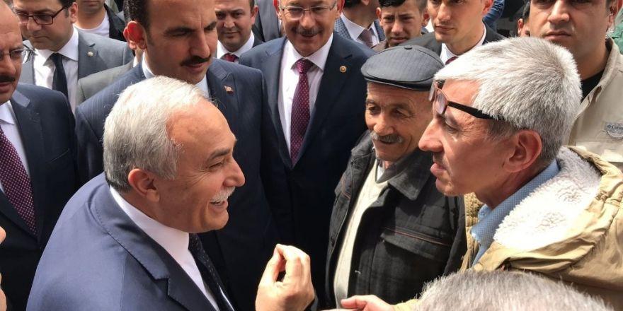 Bakan Fakıbaba'dan Konya'da esnaf ziyareti