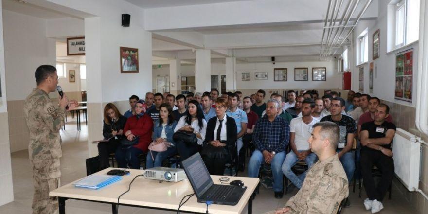 Özel güvenlik görevlilerine jandarmadan eğitim