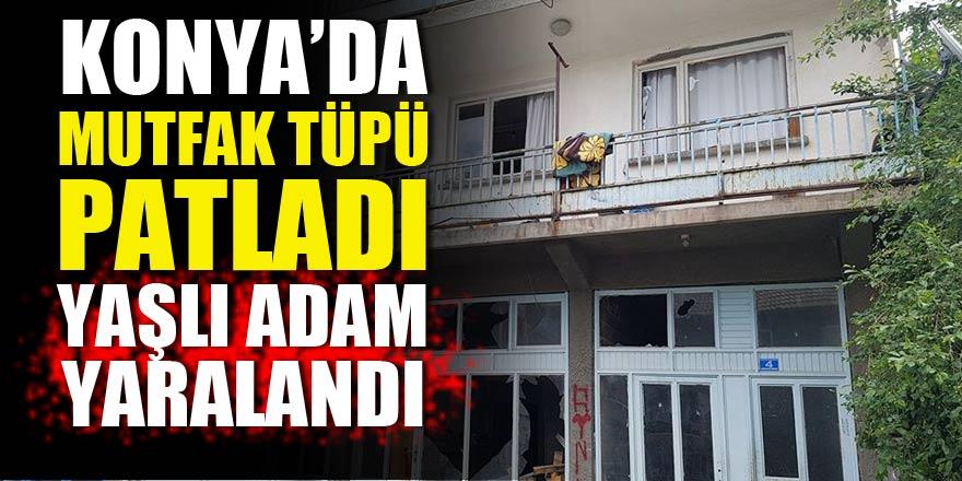 Konya'da mutfak tüpü patladı!