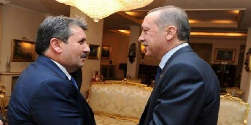 Cumhurbaşkanı Erdoğan, BBP'yi ziyaret edecek