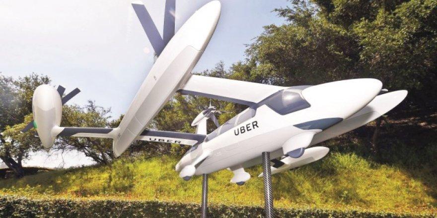 NASA ve Uber uçan takside ortak